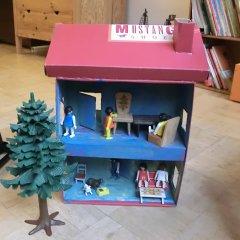 Beliebt Puppenhaus aus Schuhkarton basteln im kidsweb.de MB28