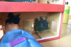 puppenhaus aus schuhkarton basteln im. Black Bedroom Furniture Sets. Home Design Ideas