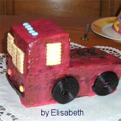 Feuerwehrkuchen Backenim Kidsweb De