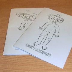 Mein Körper-Heft basteln im kidsweb.de