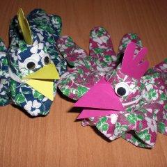 Lustige Handschuhhühner Basteln Im Kidswebde