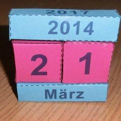 Klötzchenkalender