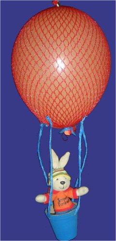 hei luftballon f r osterhasen oder andere stofftiere basteln im. Black Bedroom Furniture Sets. Home Design Ideas