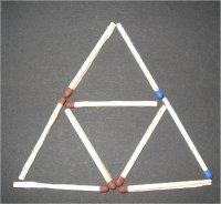 sechs dreiecke spiel