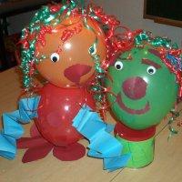 Luftballonkerlchen basteln - Bastelideen zu karneval ...