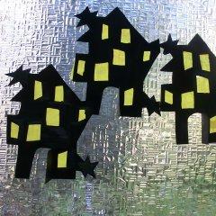 geisterhaus basteln im k rbis spezial f r kinder im. Black Bedroom Furniture Sets. Home Design Ideas