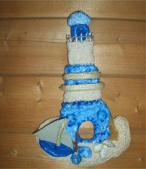 Leuchtturm aus salzteig basteln picture for Leuchtturm basteln