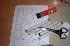 Bastelanleitung Fingerpuppen Aus Papier Diverses Nic Bastelt 10