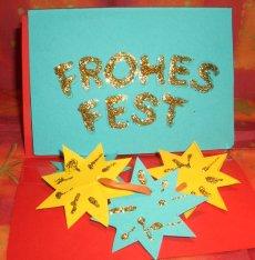 Hervorragend Weihnachtskarten basteln in der Weihnachtsseite für Kinder im EJ18