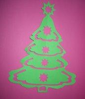 weihnachtsscherenschnitt in der weihnachtsseite f r kinder. Black Bedroom Furniture Sets. Home Design Ideas